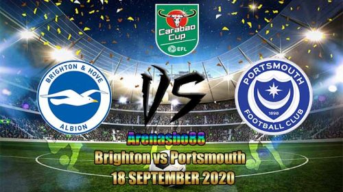 Prediksi Brighton vs Portsmouth 18 September 2020